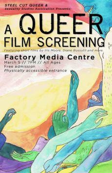 Queer Film Screening Poster