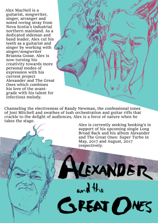 Electronic Press Release for Alexander and the Great Ones